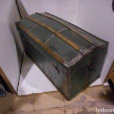 Antigüedades: BAUL ANTIGUO RESTAURADO. Lote 112035627