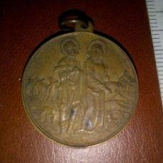Antigüedades: SAN ISIDRO LABRADOR. ANTIGUA MEDALLA. Lote 112041151