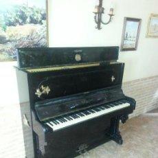 Antigüedades: PIANO SIGLO XIX. MONTANO. MADRID. MEDALLA DE ORO 1862.. Lote 112048703