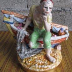 Antigüedades: PESCADOR DE PORCELANA SUREDA . Lote 112050915