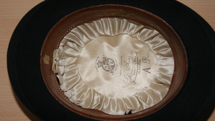 Antigüedades: Sombrero Borsalino de Hongo Antiguo o Bombin - Foto 6 - 40000404