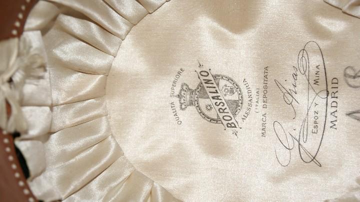 Antigüedades: Sombrero Borsalino de Hongo Antiguo o Bombin - Foto 7 - 40000404