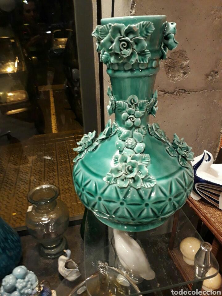 JARRON MANISES (Antigüedades - Porcelanas y Cerámicas - Manises)