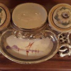 Antigüedades: ESCRIBANIA...LA ASTURIANA. Lote 112108899