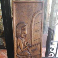 Antigüedades: TALLA EN MADERA. Lote 112143731