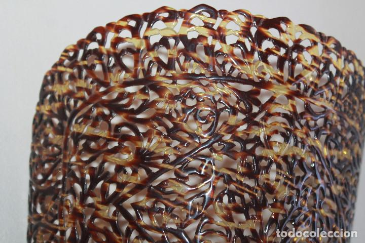 Antigüedades: Peineta grande de celuloide, siglo XIX, LEER DESCRIPCIÓN - Foto 2 - 112149807