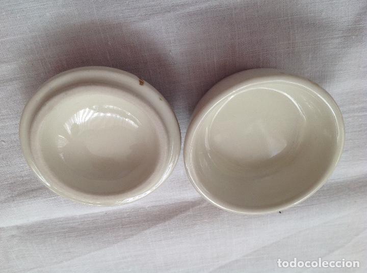 Antigüedades: Cajita japonesa de loza - Foto 3 - 112168023