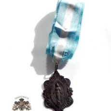 Antigüedades: MEDALLA INMACULADA - LEYENDA OH MARIA SIN PECADO CONCEBIDA ROGAD POR NOSOTROS QUE RECURRIMOS A VOS. Lote 112174999