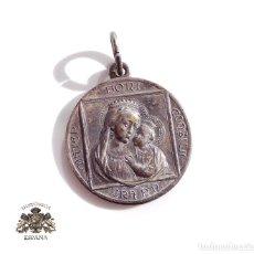 Antigüedades: MEDALLA PIO XI. P.M.ANIO SANTO 1933 - MATER BONI CONSILI I - ORA POR NOSOTROS. Lote 112176519