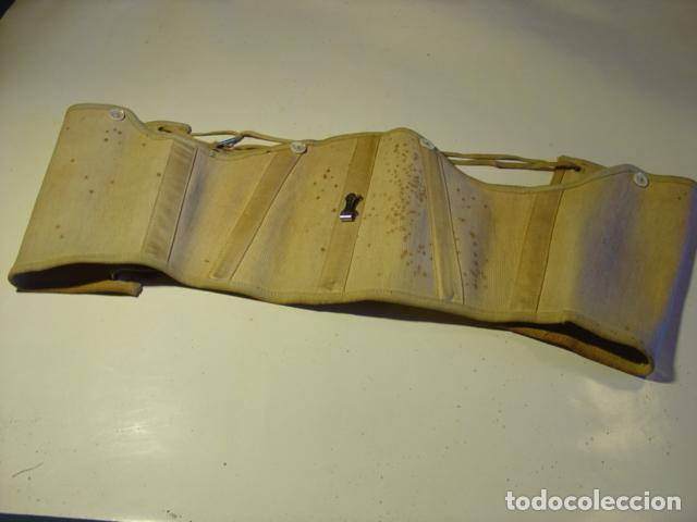 Antigüedades: Antiguo Corsé Señora Finales s.XIX. Manchas de Óxido en el Anverso. - Foto 4 - 112222895