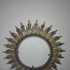 Antigüedades: PRECIOSO MARCO PARA ESPEJO DE SOL DOBLE HOJA VINTAGE. Lote 112228975