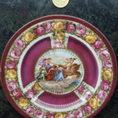 Antigüedades: PLATITO POSTRE. VIENA S.XIX. Lote 112236634