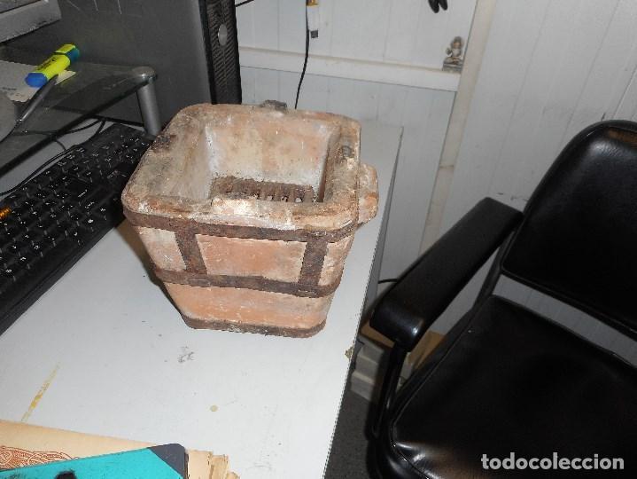 Antigüedades: hornillo ceramica muy buen estado - Foto 3 - 112238583