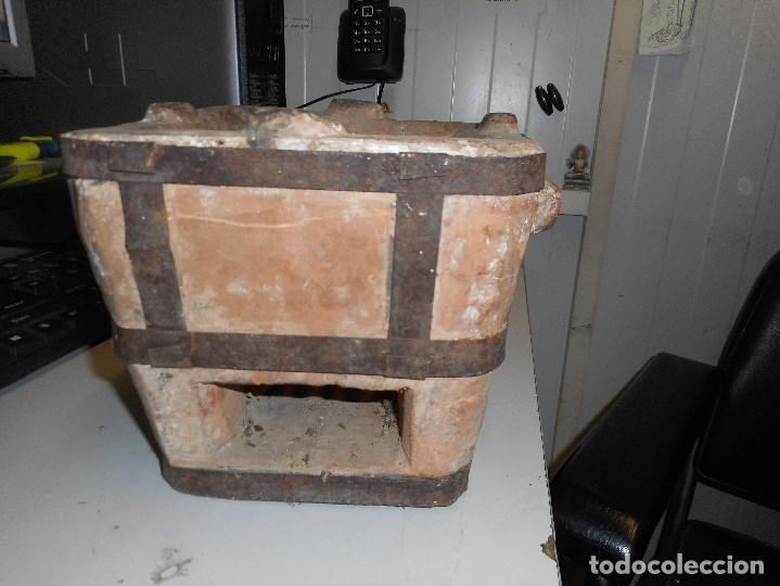 Antigüedades: hornillo ceramica muy buen estado - Foto 6 - 112238583