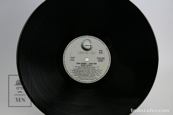 Discos de vinilo: Disco De Vinilo - John Lennon Yoko Ono / Double Fantasy - Geffen Records - 1980 - Foto 2 - 112240618
