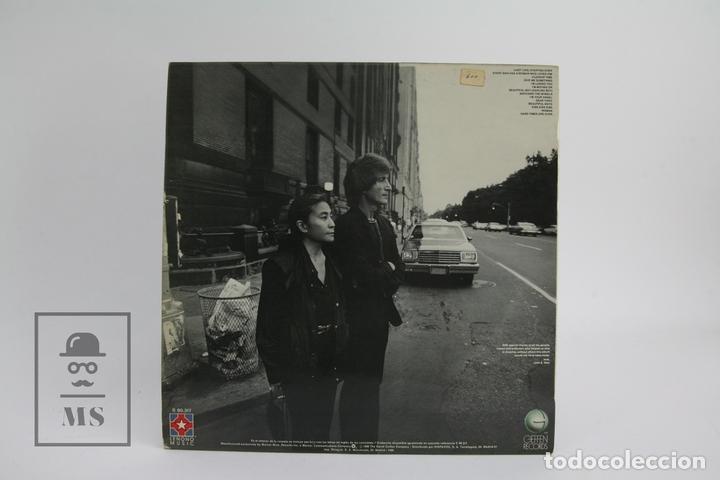 Discos de vinilo: Disco De Vinilo - John Lennon Yoko Ono / Double Fantasy - Geffen Records - 1980 - Foto 3 - 112240618