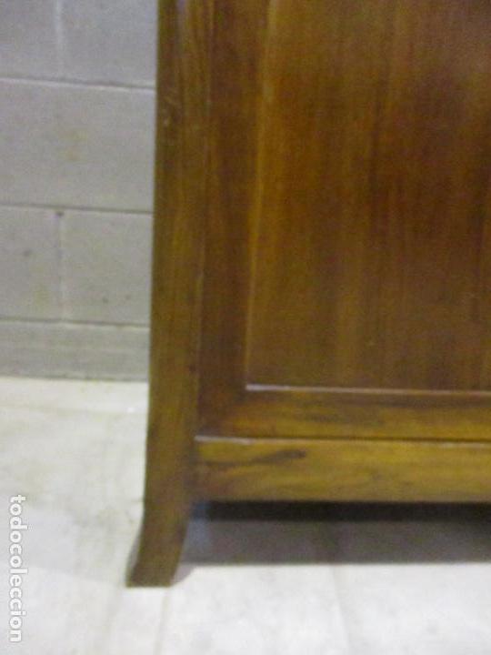 Antigüedades: Antiguo Tocador Modernista - Madera Nogal - Espejo Plateado - Mármol - Principios S. XX - Foto 5 - 112253747