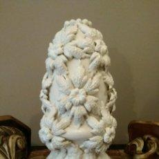 Antigüedades: IMPRESIONANTE LAMPARA DE MANISES.. Lote 112276819