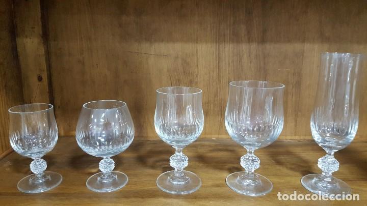 CRISTALERÍA 10 SERVICIOS 50 PIEZAS (Antigüedades - Cristal y Vidrio - Otros)