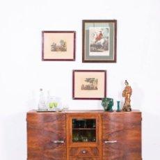 Antigüedades: APARADOR ANTIGUO DE DISEÑO 1940. Lote 112319615