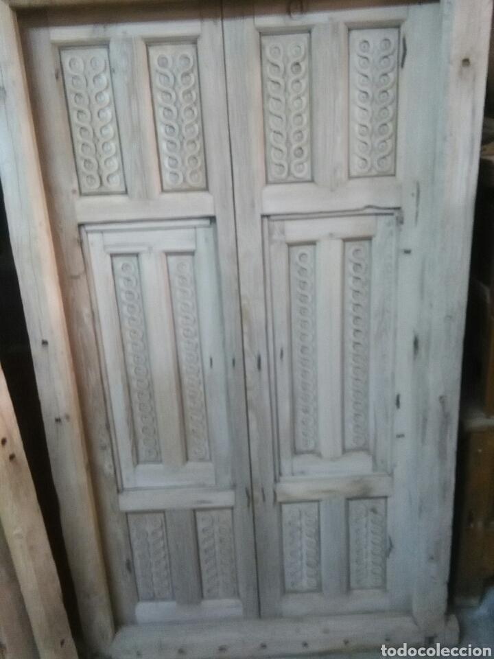 Antigüedades: 2 Parejas Ventanas de madera 2 juegos - Foto 12 - 57790813
