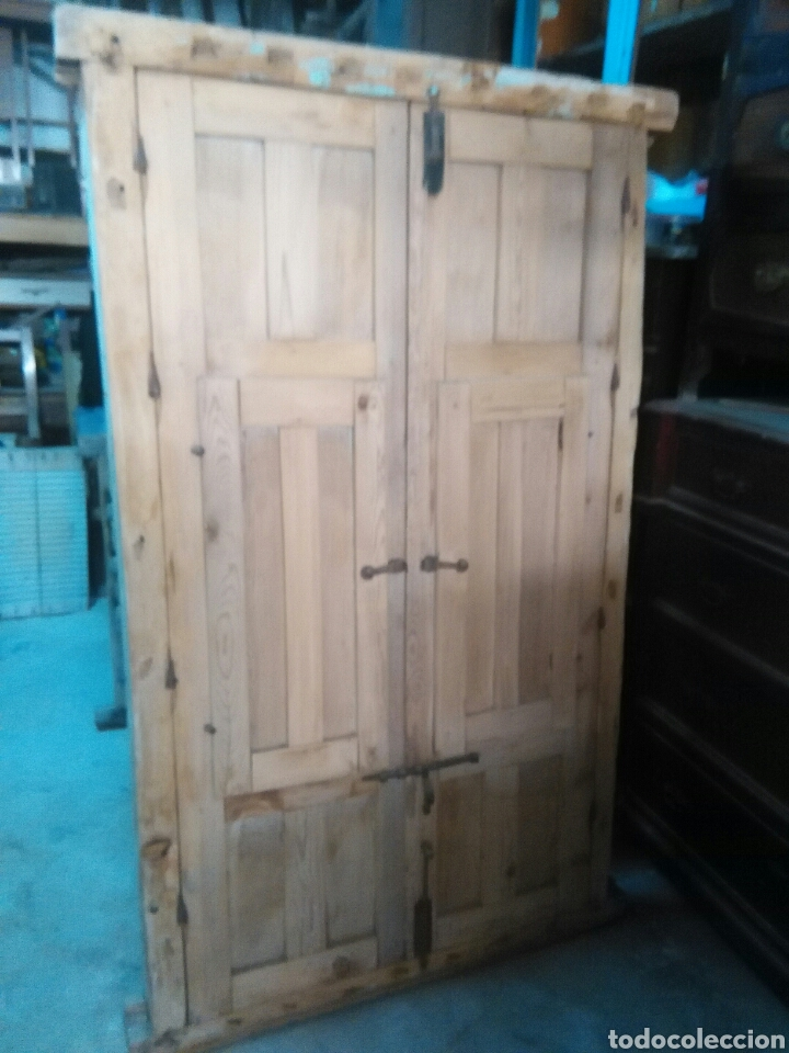Antigüedades: 2 Parejas Ventanas de madera 2 juegos - Foto 13 - 57790813