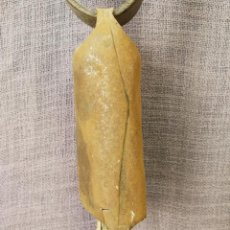 Antigüedades: CENCERRO DE GANADO CON COLLAR. Lote 112328451