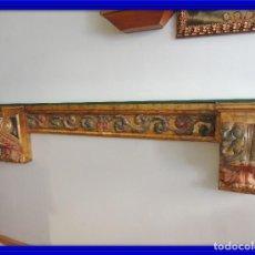 Antigüedades: MAGNIFICA CONSOLA CON MENSULAS SIGLO XVII. Lote 112331031