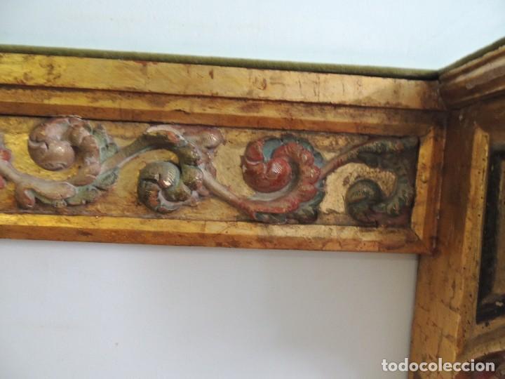 Antigüedades: MAGNIFICA CONSOLA CON MENSULAS SIGLO XVII - Foto 6 - 112331031