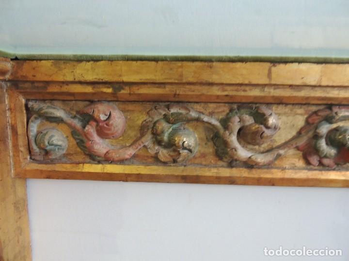 Antigüedades: MAGNIFICA CONSOLA CON MENSULAS SIGLO XVII - Foto 8 - 112331031