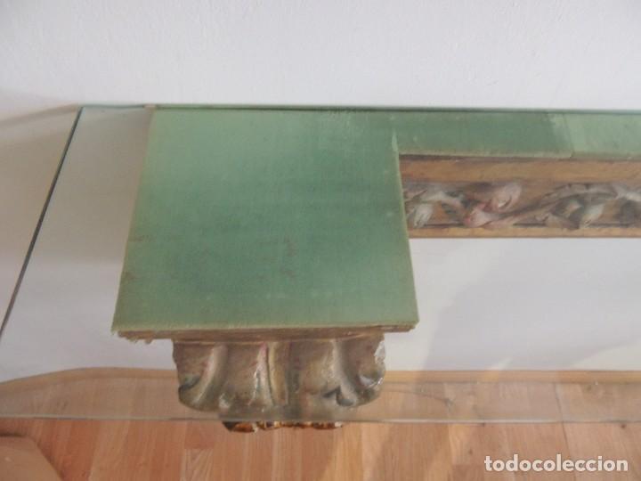 Antigüedades: MAGNIFICA CONSOLA CON MENSULAS SIGLO XVII - Foto 13 - 112331031