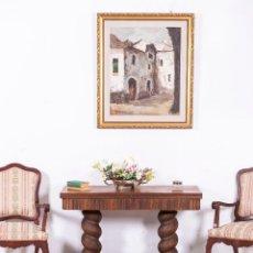 Antigüedades: MESA ANTIGUA ART DECÓ. Lote 112334595