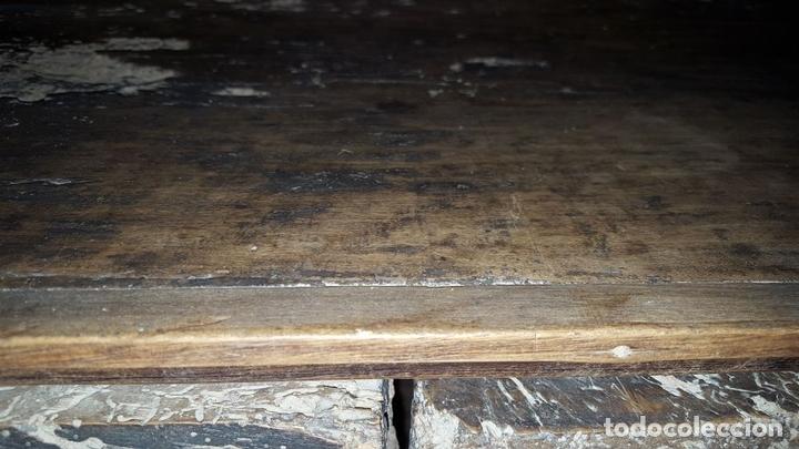 Antigüedades: MUEBLE ARMERO. ESTILO RENACENTISTA. MADERA DE ALVA. ESPAÑA. SIGLO XVII. - Foto 10 - 112338479