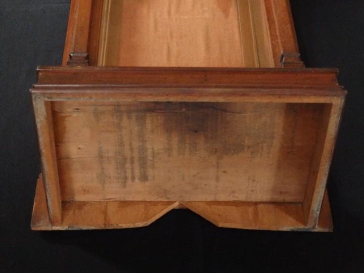 Antigüedades: Hornacina o capilla de estilo neogótico en madera. 93 cm. Hacia 1900. - Foto 15 - 117782198