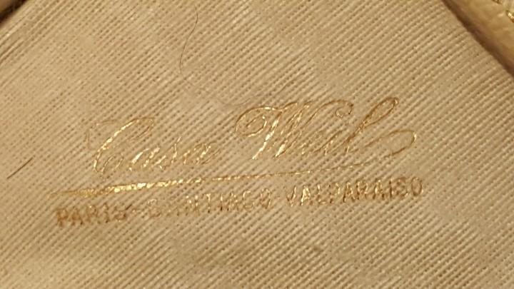 Antigüedades: COLGANTE DE MARFIL Y PLATA FRANCES VIRGEN MARIA - Foto 9 - 112382847