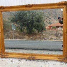 Antigüedades: ESPEJO DORADO EN MADERA TALLADA. Lote 112388931