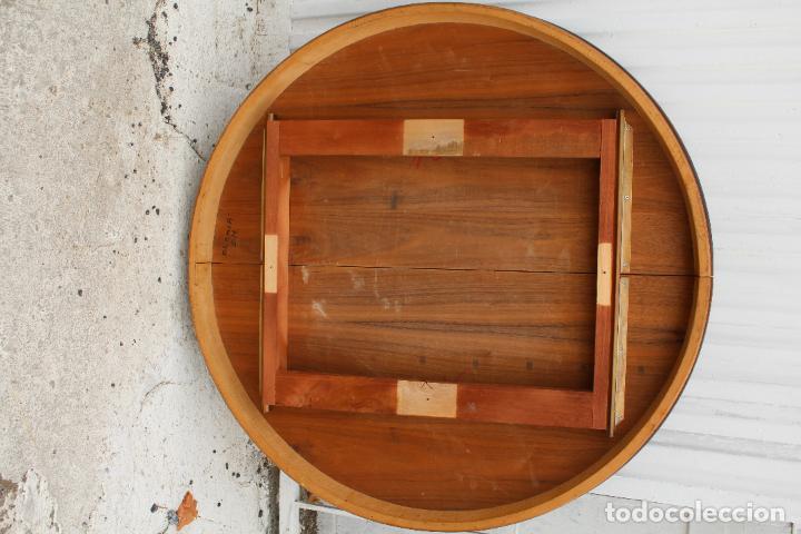 Antigüedades: mesa redonda extensible - Foto 3 - 112391339