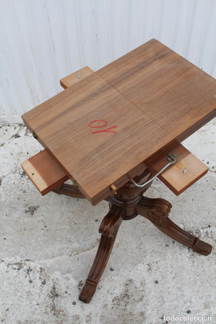 Antigüedades: mesa redonda extensible - Foto 7 - 112391339