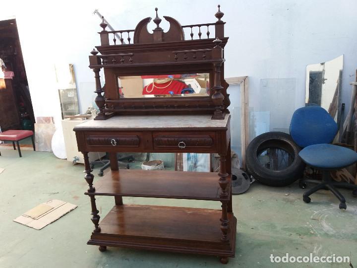 MUEBLE PLATERO ANTIGUO (Antigüedades   Muebles Antiguos   Aparadores  Antiguos)