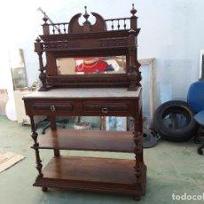 Antigüedades: MUEBLE PLATERO ANTIGUO. Lote 112411887