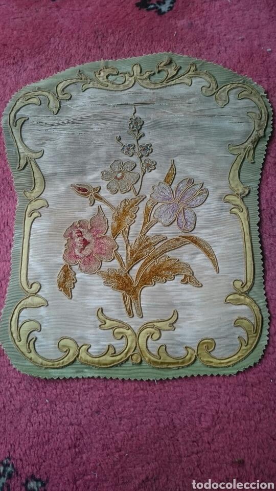 Antigüedades: Tapicería Sillas Siglo XVIII - Foto 3 - 112430798