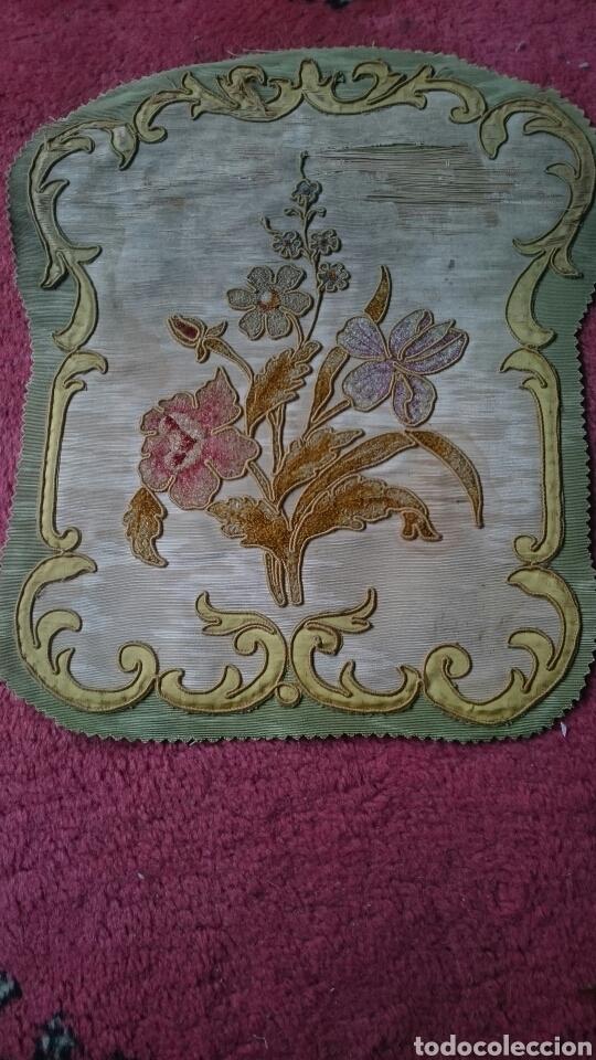 Antigüedades: Tapicería Sillas Siglo XVIII - Foto 4 - 112430798
