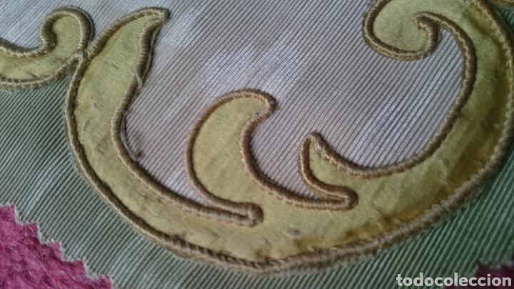 Antigüedades: Tapicería Sillas Siglo XVIII - Foto 6 - 112430798