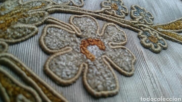 Antigüedades: Tapicería Sillas Siglo XVIII - Foto 8 - 112430798