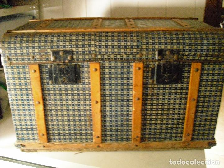 BAUL (Antigüedades - Muebles Antiguos - Baúles Antiguos)