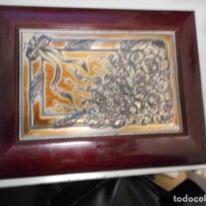 Antigüedades: PRECIOSO JOYERO ESTILO MODERNISTA PLATA DE LEY MARCADO 925 FIRMA ORFEBRE. Lote 112447143