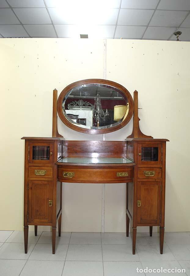 Mueble tocador antiguo estilo modernista comprar muebles - Muebles estilo antiguo ...