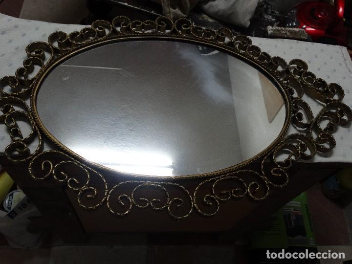 Antigüedades: Espejo forja - Foto 3 - 112459303