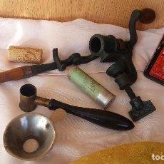 Antigüedades - Cargador de cartuchos. Antiguo. Años 40. Colección de antiguas piezas para la caza. - 112466391