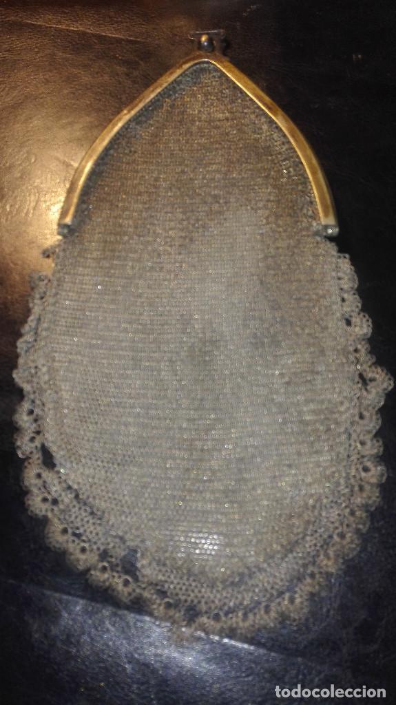 Antigüedades: bolso de malla.principios del siglo XX - Foto 2 - 112478907